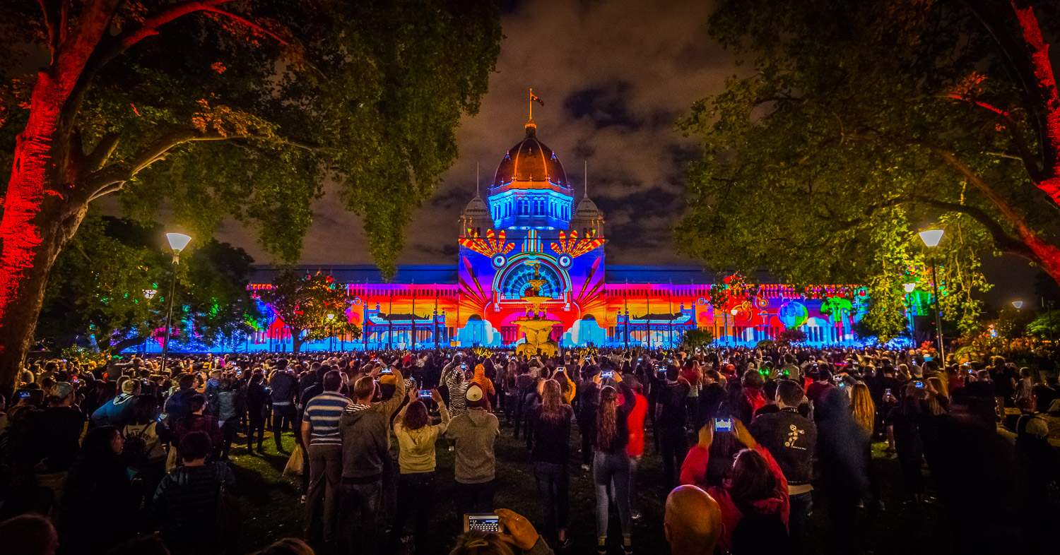 White Night 2017 Royal Exhibition Building Southern Drive-28.jpg
