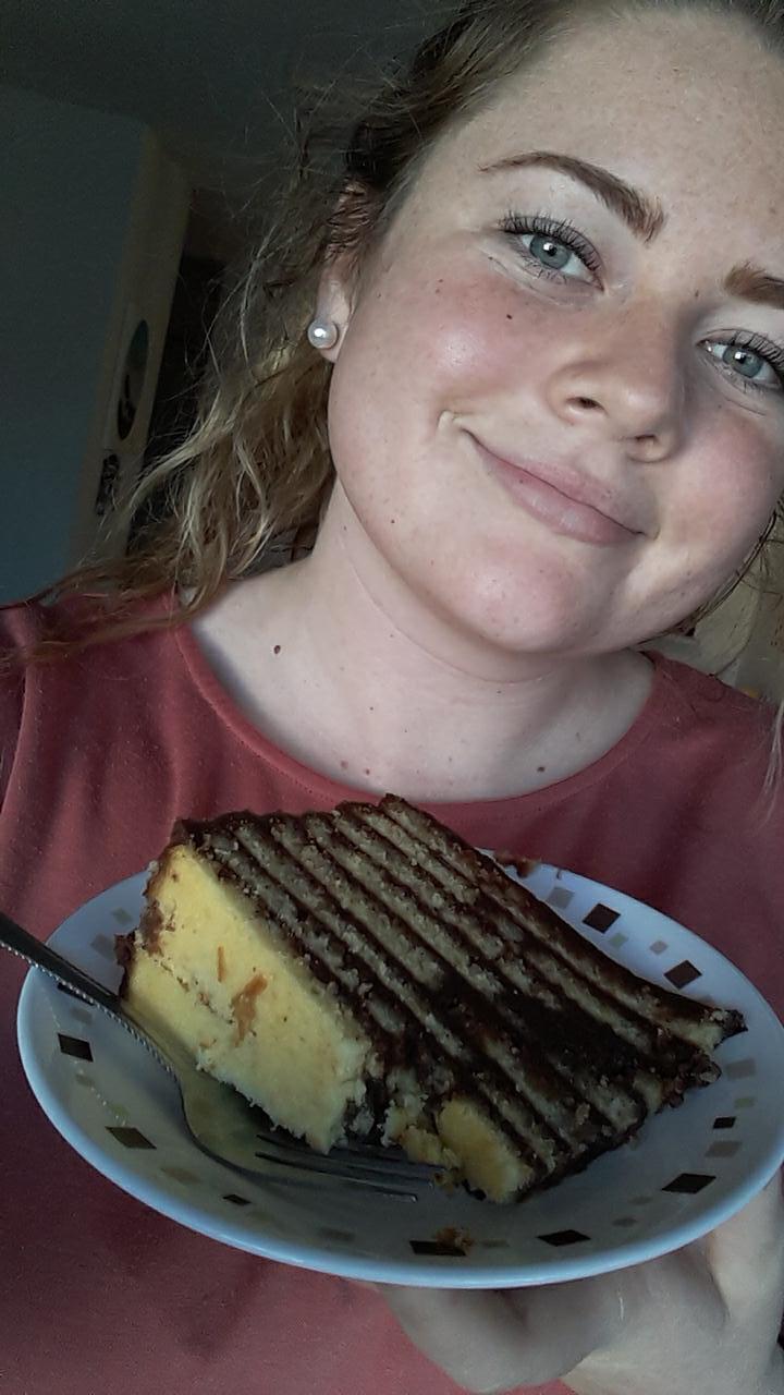 Miss Sarah made us a GIAGANTIC cake