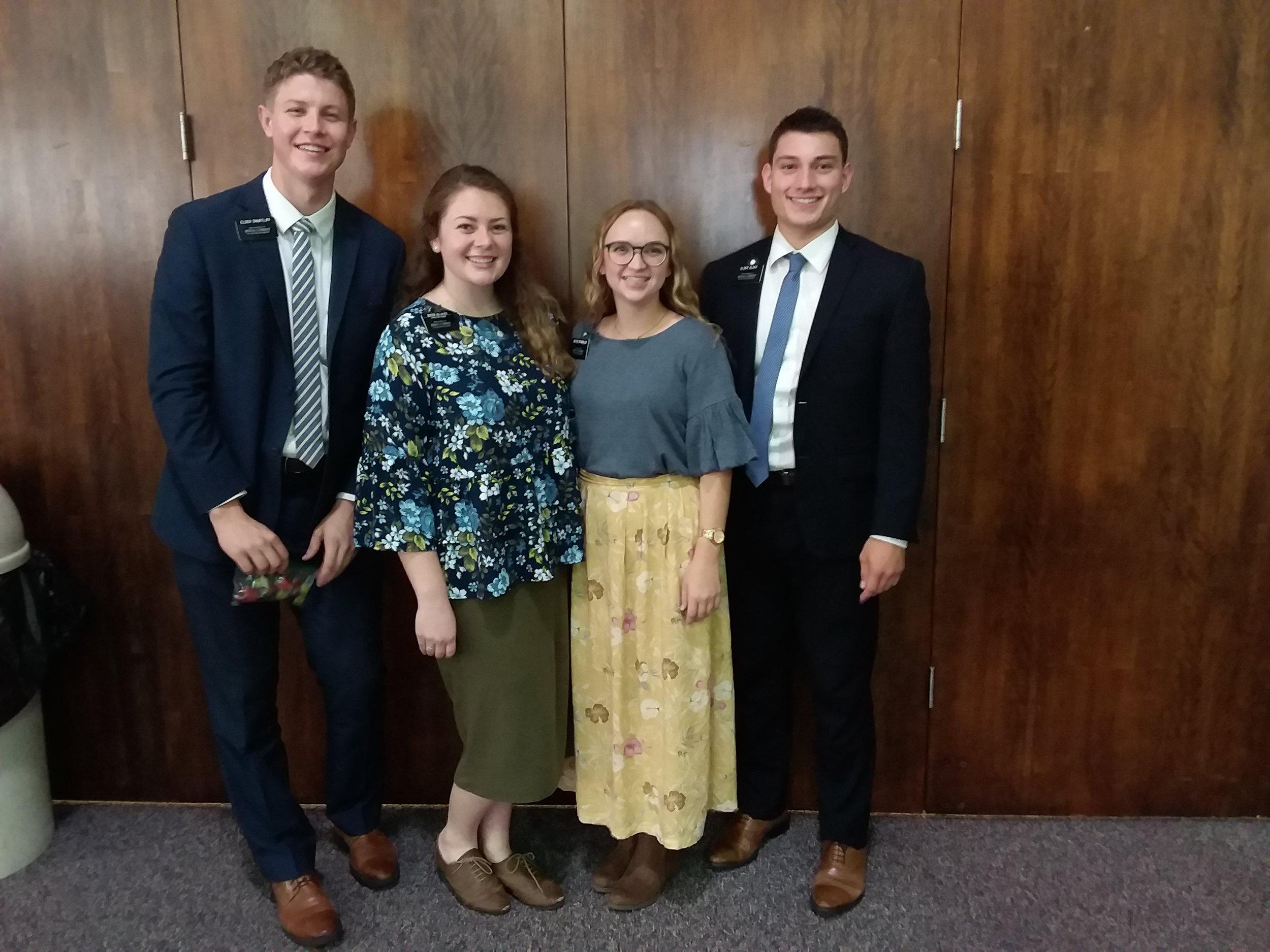 QuadSquad2k18 (e. Shurtliff, your fav sis missionary, s. Spangler, e. Alder)