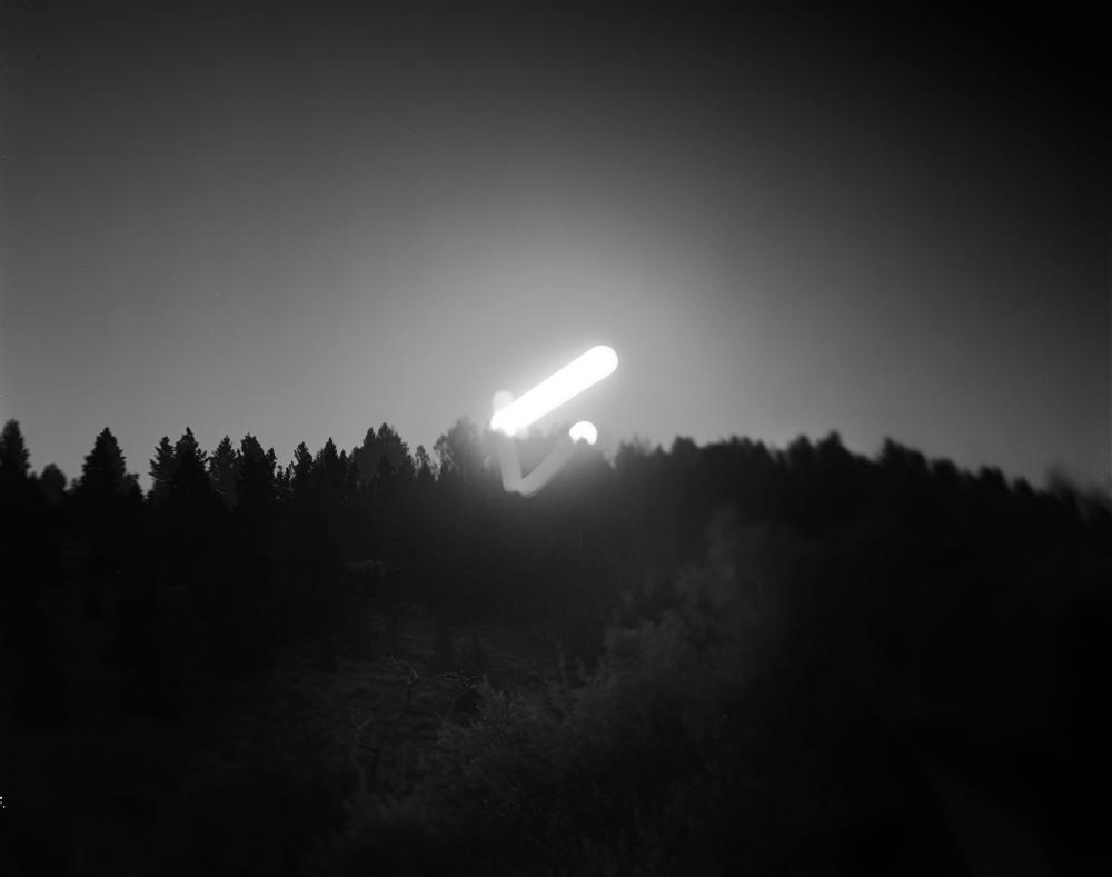 Full Moon over Centennial Valley, MT 2013