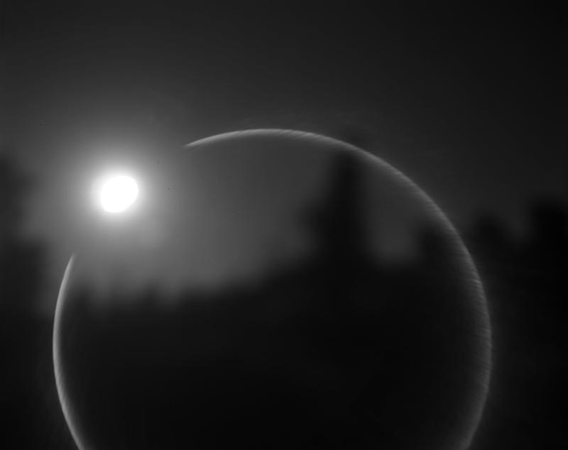 Lunar Eclipse, Lake Tahoe, CA 2012