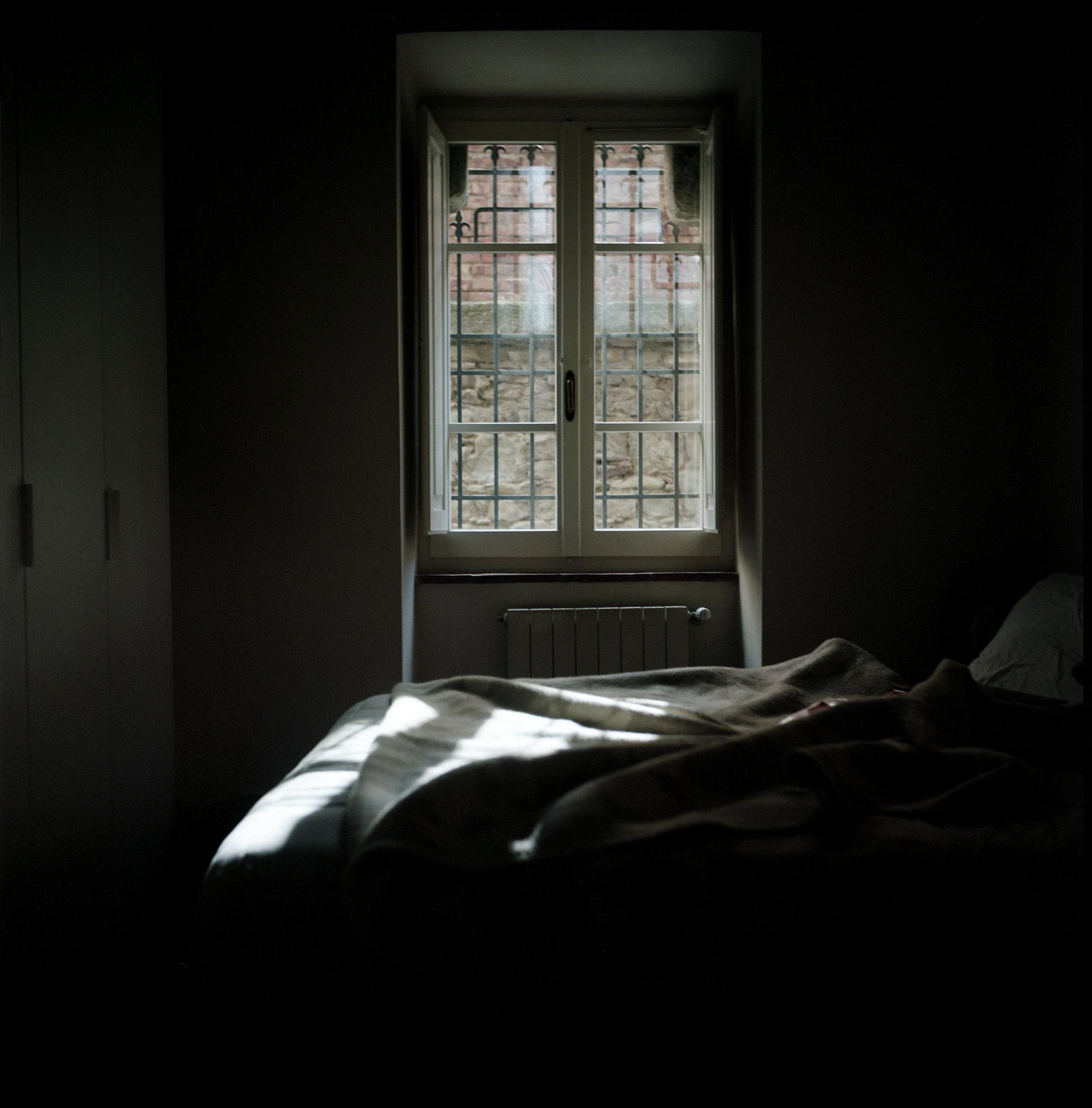 Bed, Cortona, Italy