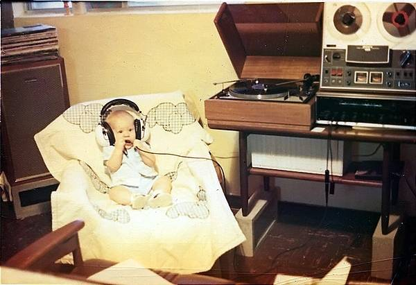 Myself around one year old in Okinawa Japan circa 1971 with my first taste of good audio. Like many serviceman around this time stationed overseas my father put together a very nice audio system which I got to enjoy for years after growing up back home in California.