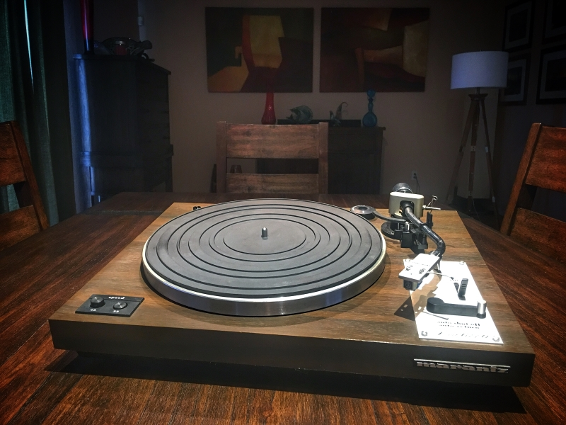 Restored Marantz 6110 with AudioT echnica Pro11 cartridge