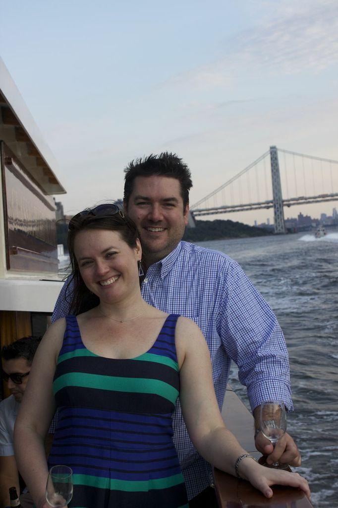 Attorney Liz Brettschneider and her boyfriend Mark.