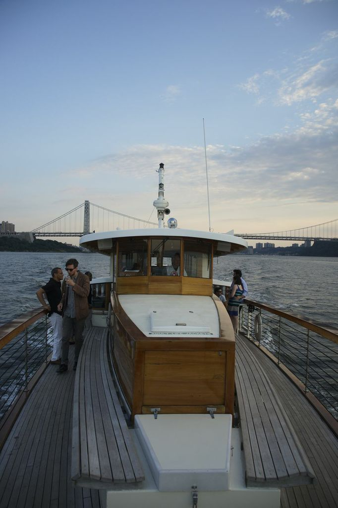 The Yacht Manhattan.