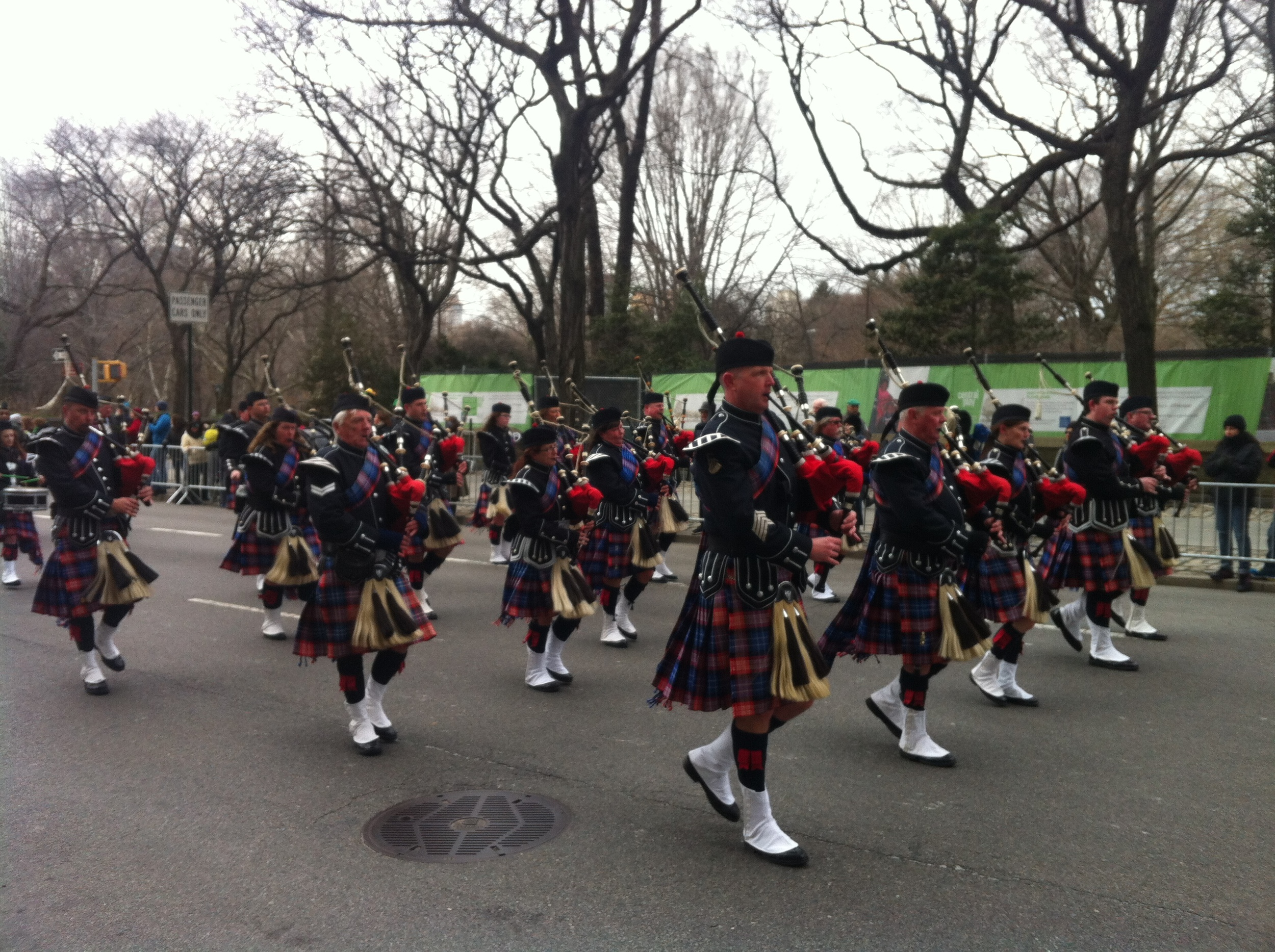 Bagpipers.