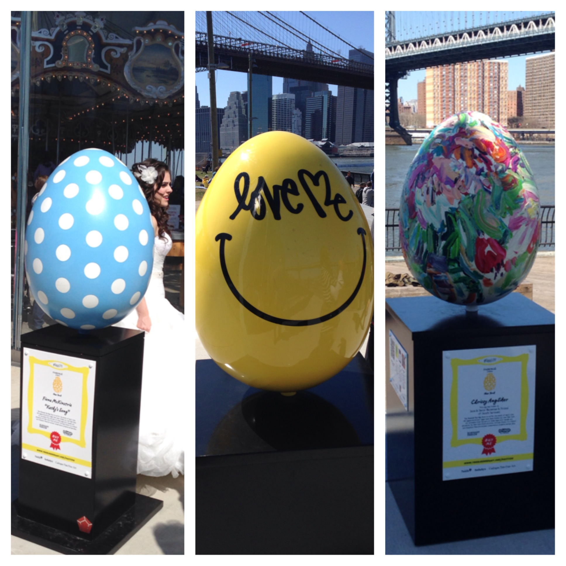 A few colorful selections from the  Big Egg Hunt .