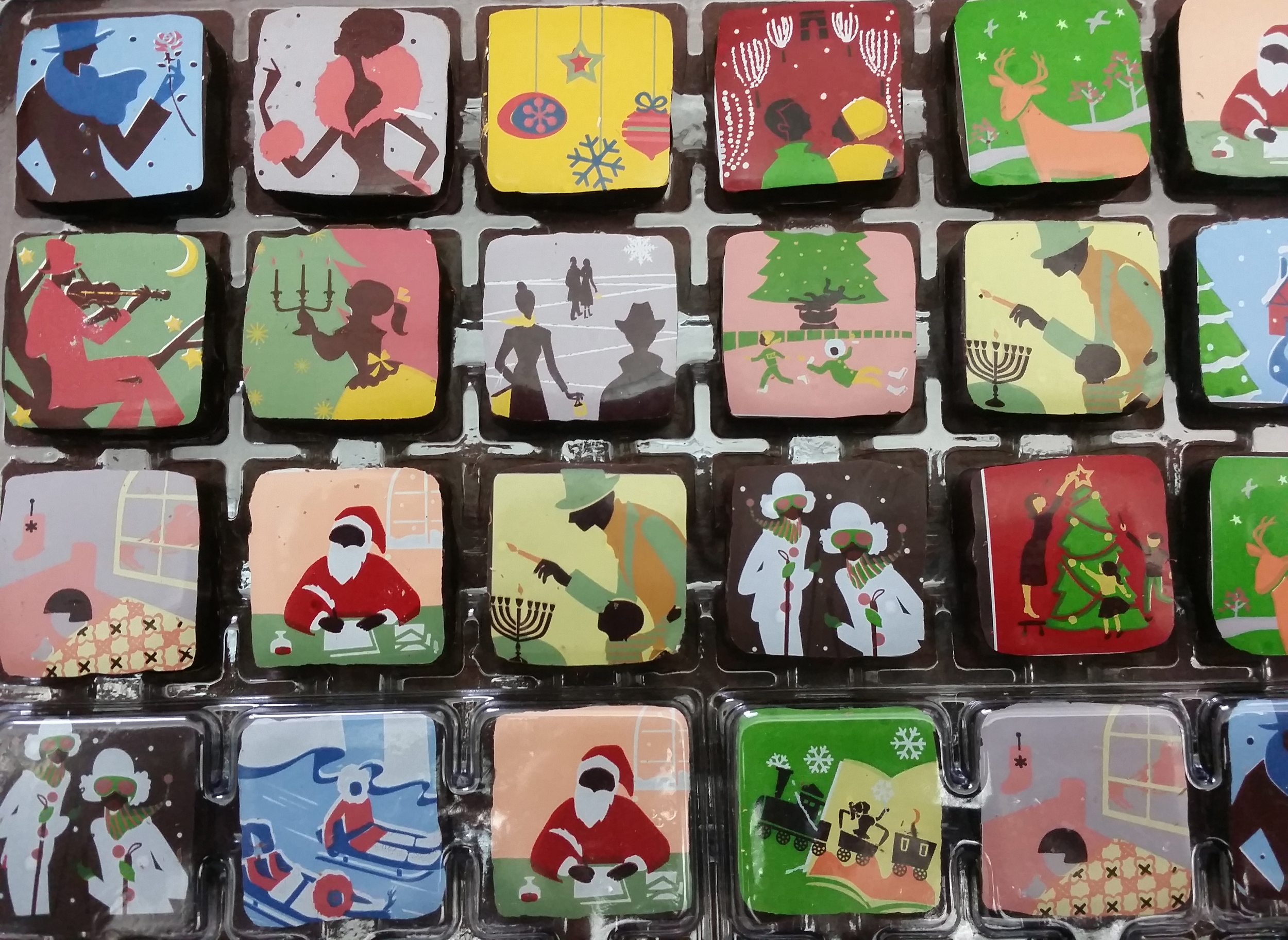 Chocolate by  Mariebelle . Happy Holidays, everyone!