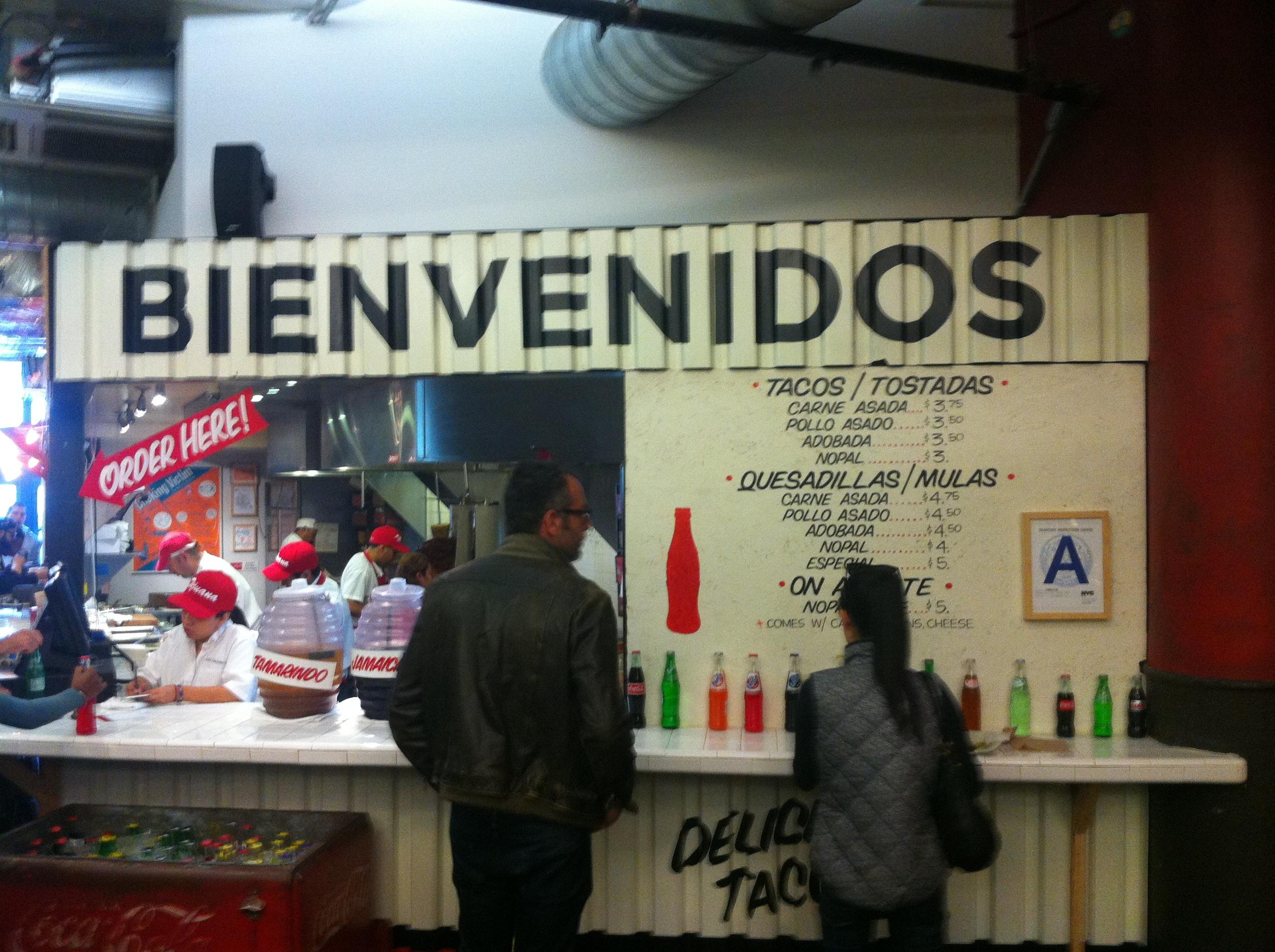 Los Tacos No. 1. Not in Brooklyn or Queens but still good.