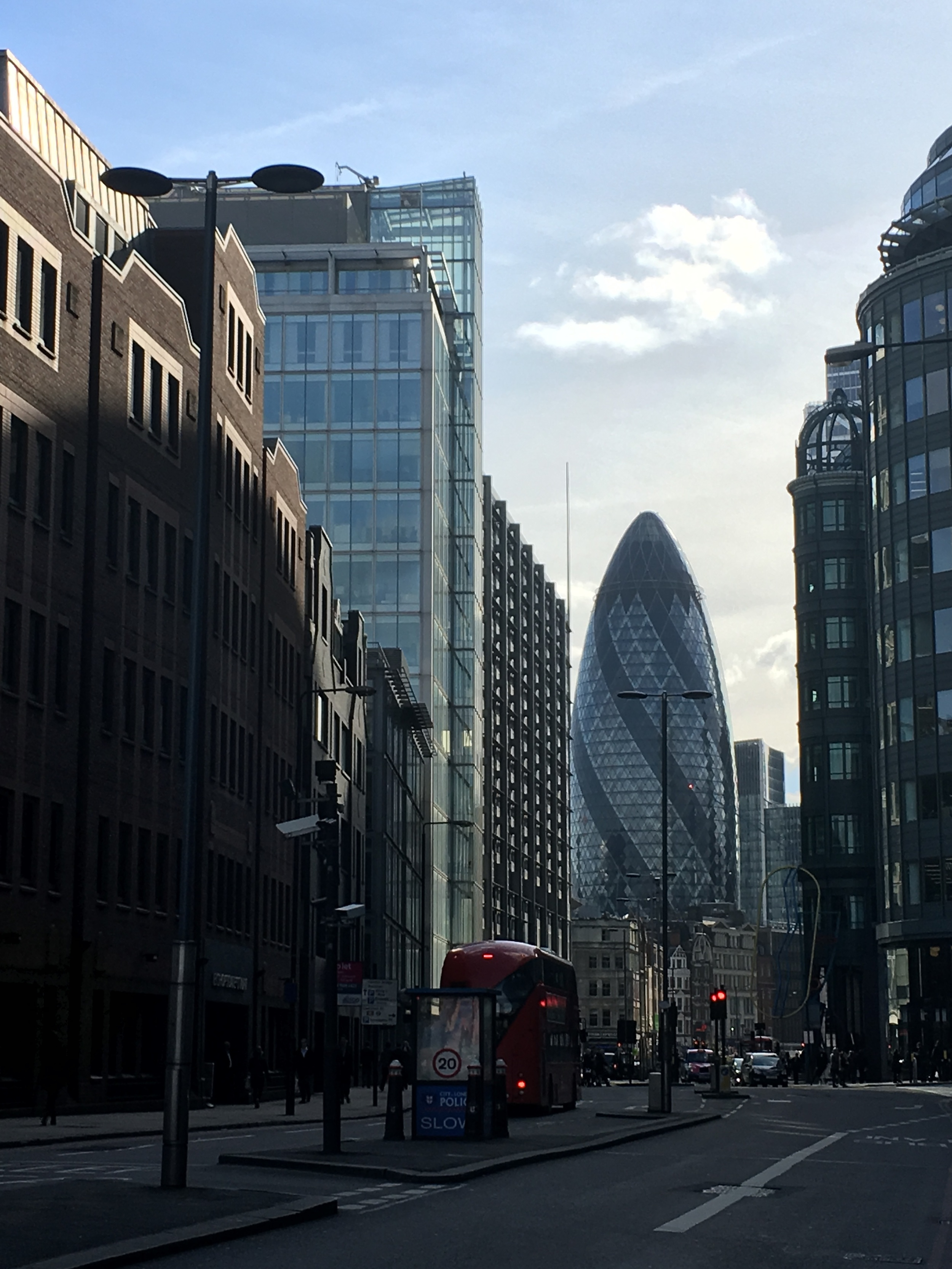 30 St. Mary Axe in the City of London.