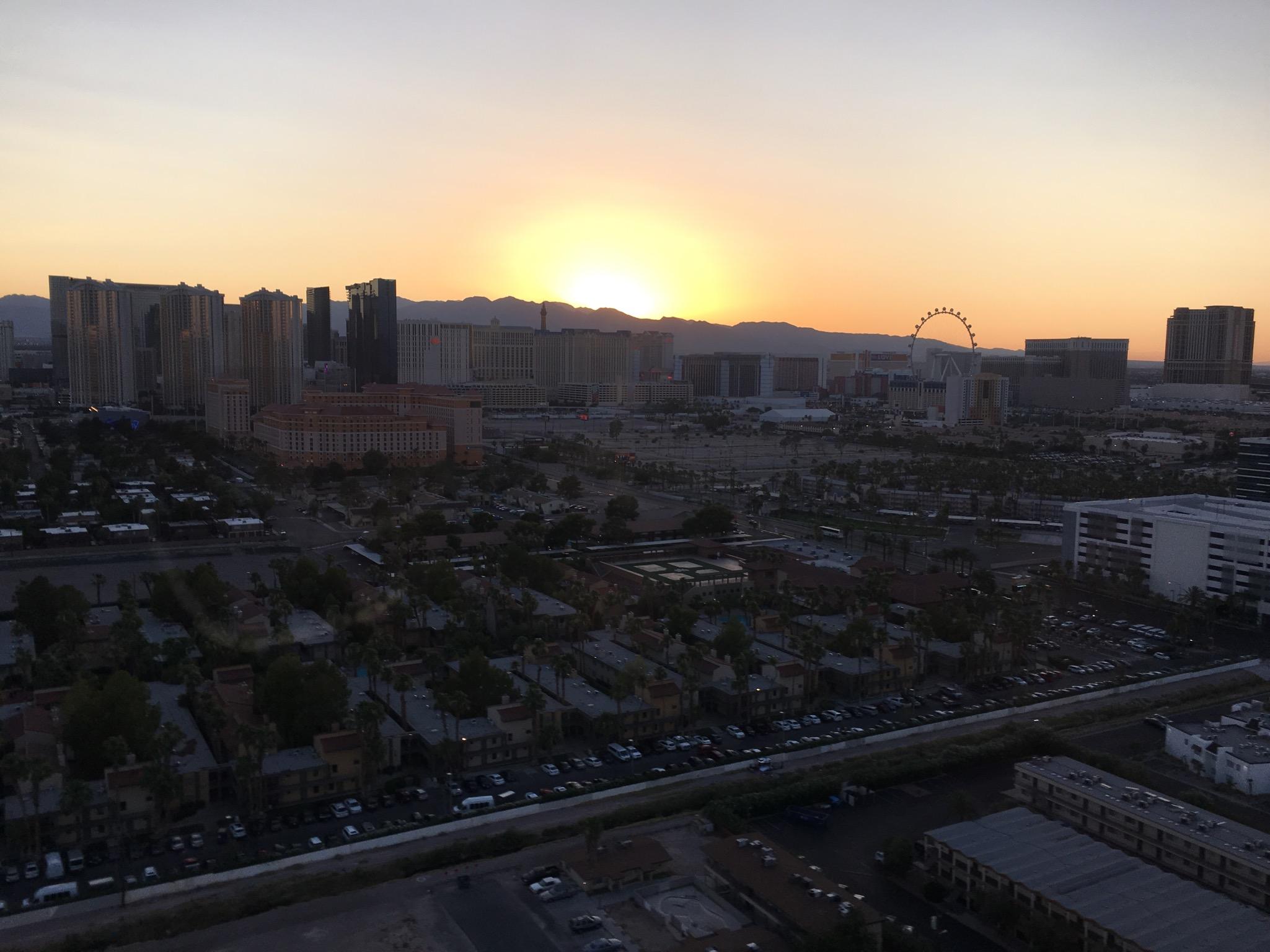 Bye, Las Vegas!