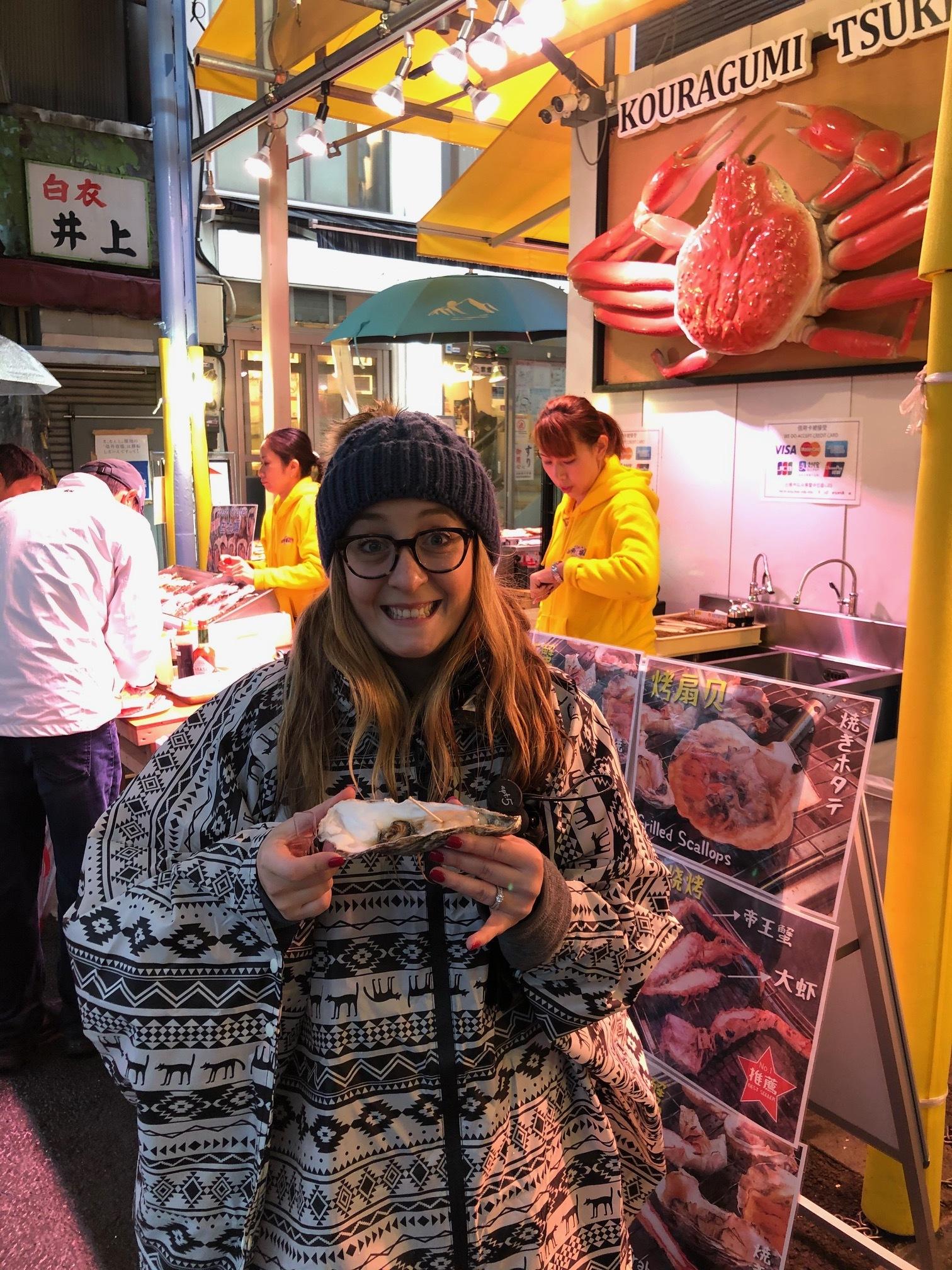 Oyster at old Tsukiji Market.jpeg