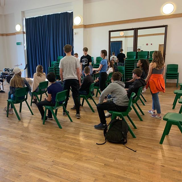 Yeeeeee-haw! 🤠 The first school production of BILLY THE KID just started rehearsing at Windsor Upper School - cannot tell you how excited we are to hear this show again! 4th-7th June. Don't miss it folks!  #newmusicals #musicaltheatre #schoolshow
