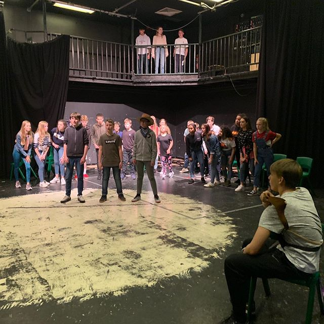 More from Windsor Upper School's BILLY THE KID rehearsals! It looks like it's gonna be an awesome production 🤠