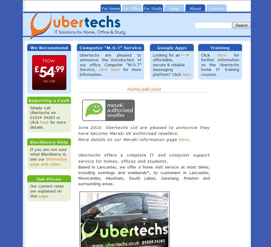 old-ubertechs-website-design1
