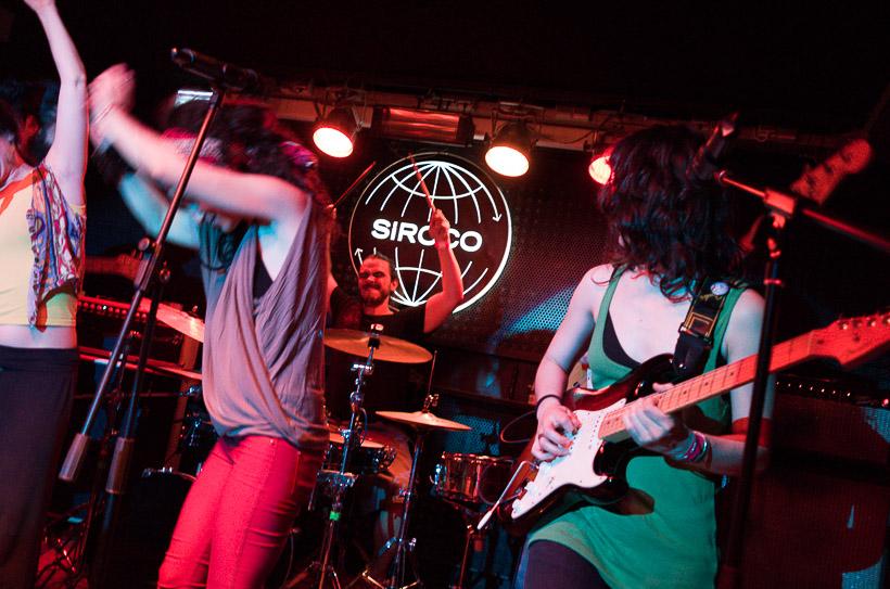 Big Monkal under rithym enchants. Siroco, Madrid 2013