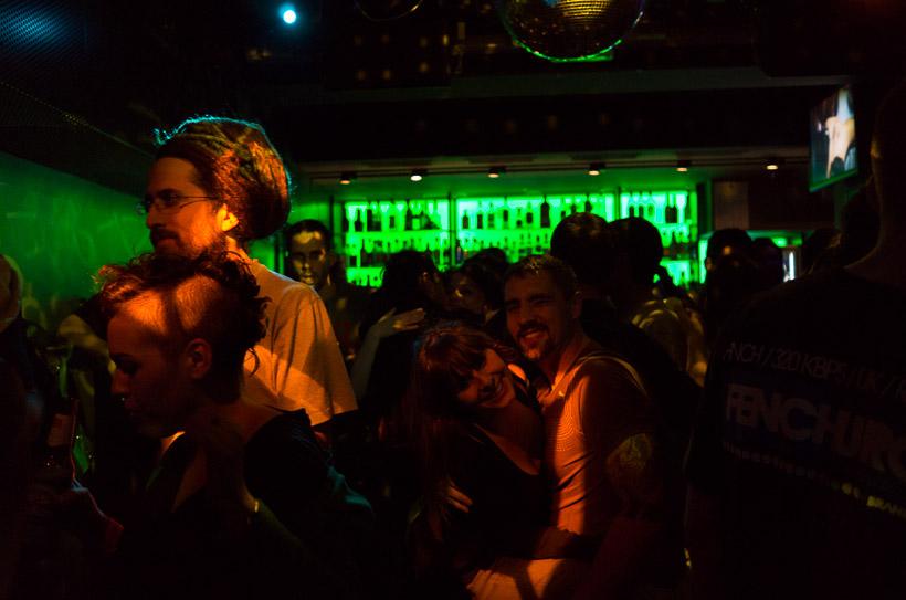 Javi & Vanesa dancing and smiling. Siroco, Madrid 2013