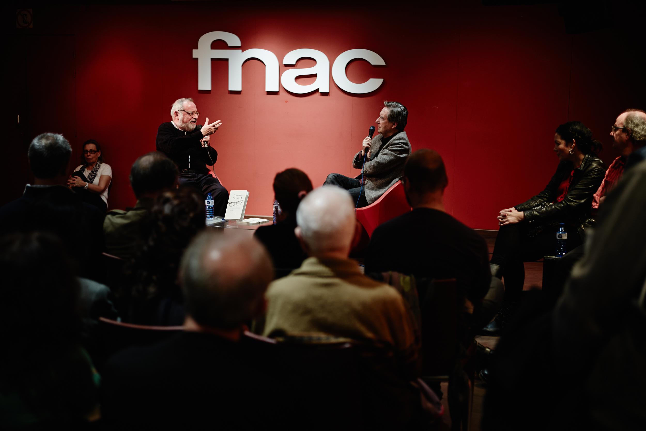 Fernando Savater en Fnac Madrid. 2013