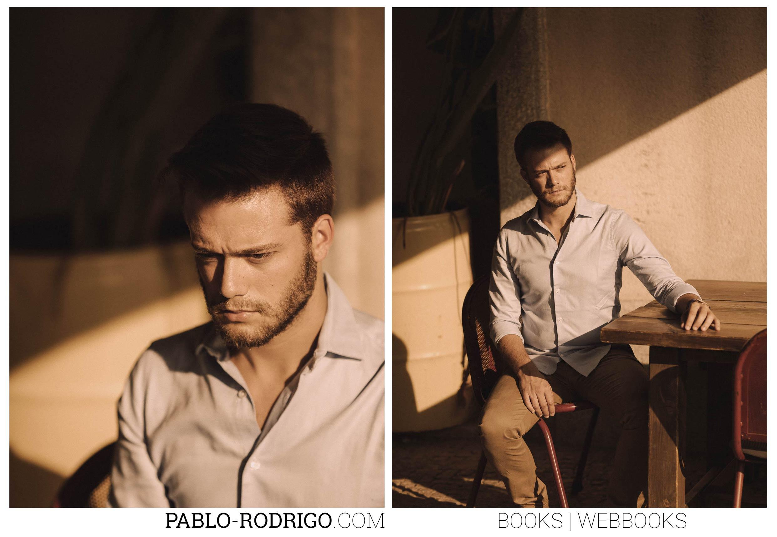 Sesión TEST para el actor Jaime Riba, Madrid 2017