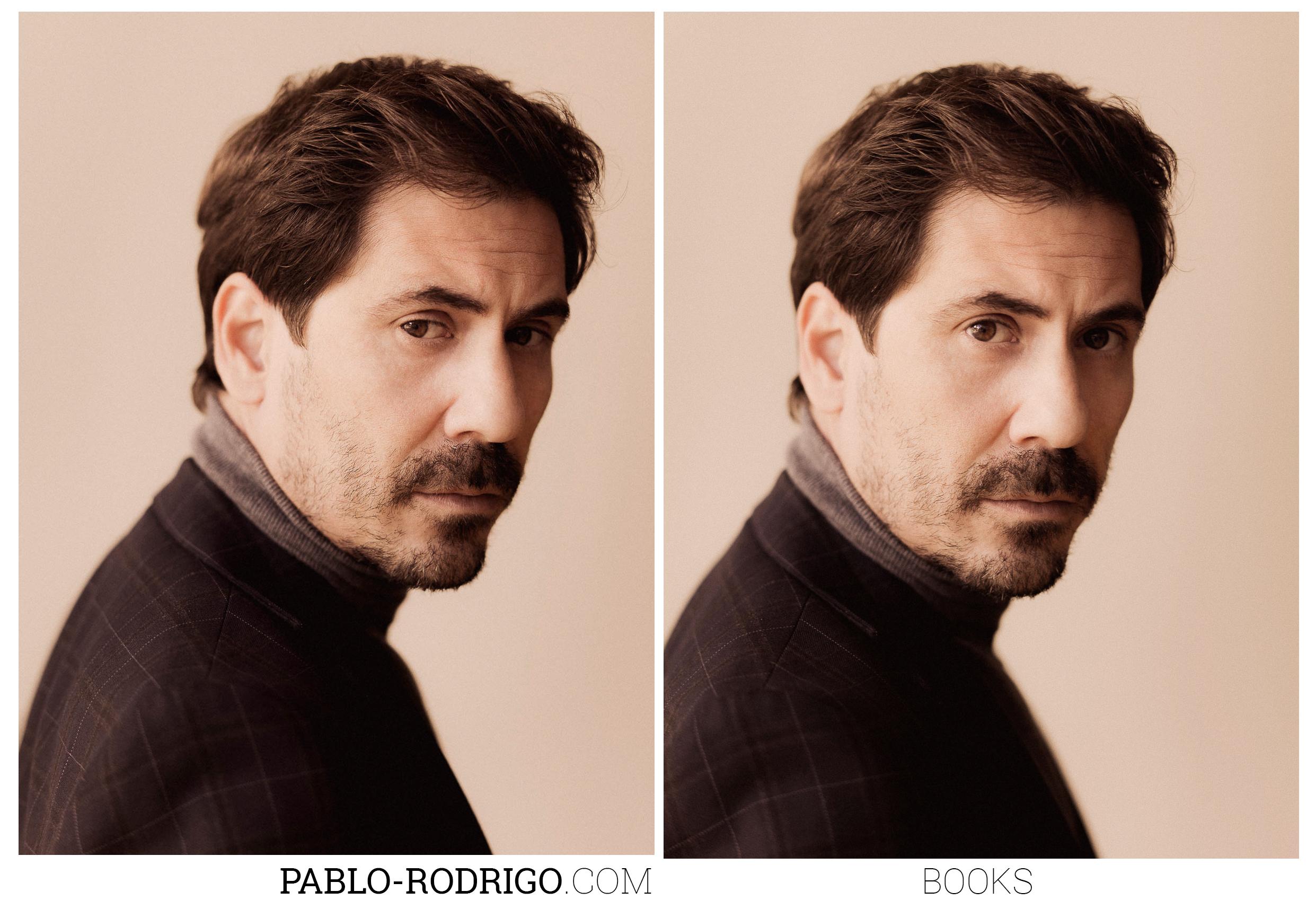 Sesión de fotos con el actor Antonio Alcalde. Madrid, 2017. Representado por Olga Lorente.