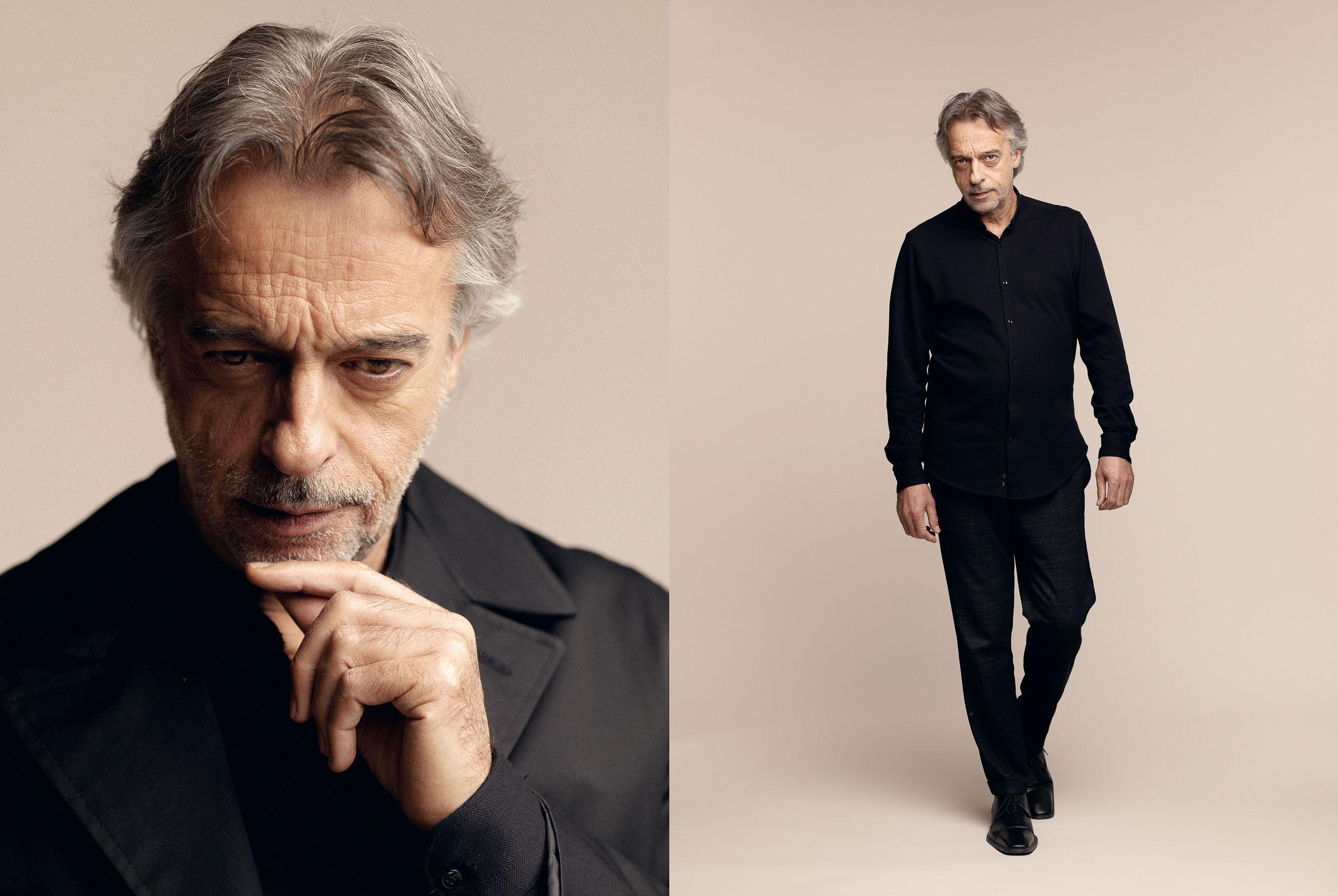 El actor Agustín Ustárroz. Madrid, 2018. Representado por Olga Lorente.