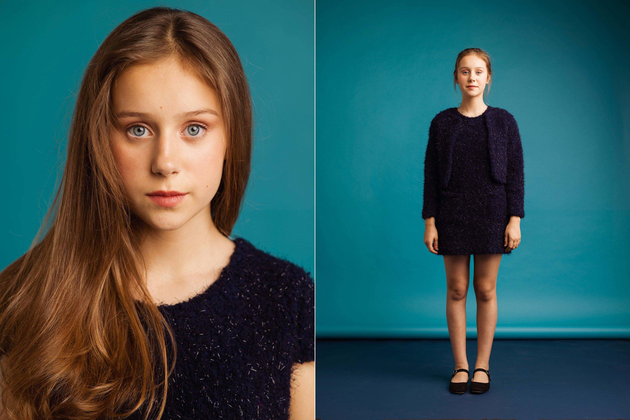 SOFIA - Sesión de fotos con la joven actriz de cine.