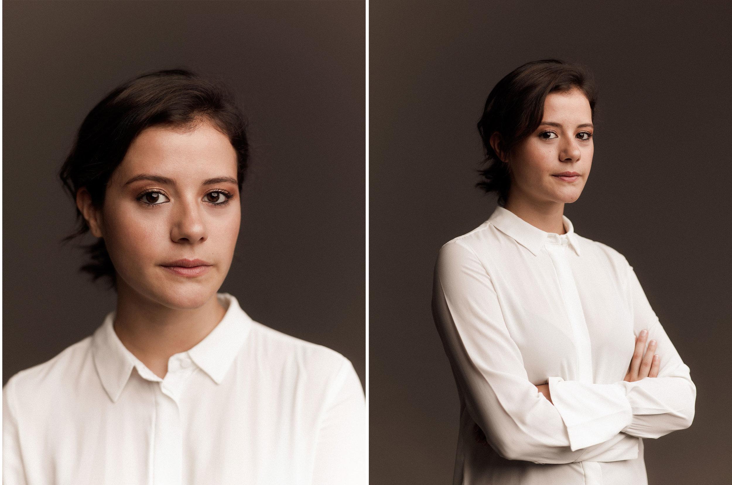 Daniela Estay, actriz. Madrid, 2019