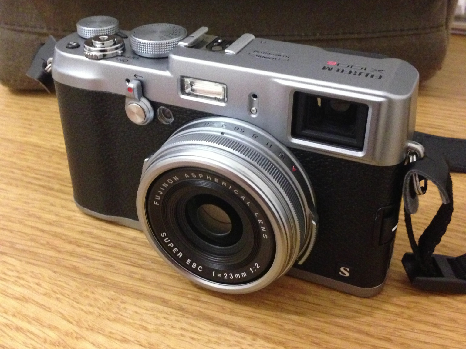 Fujifilm X100s (taken with a crappy iPhone 5)