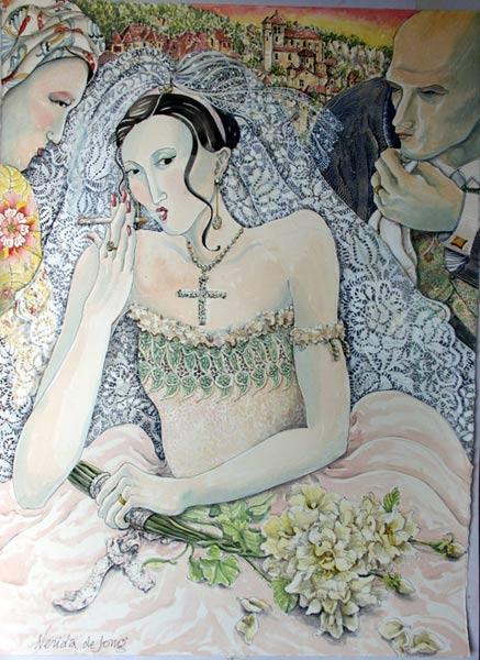 """""""The Smoking Bride"""""""