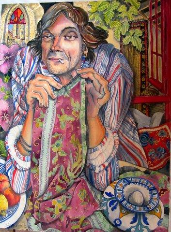 """""""Portrait of Alain"""""""