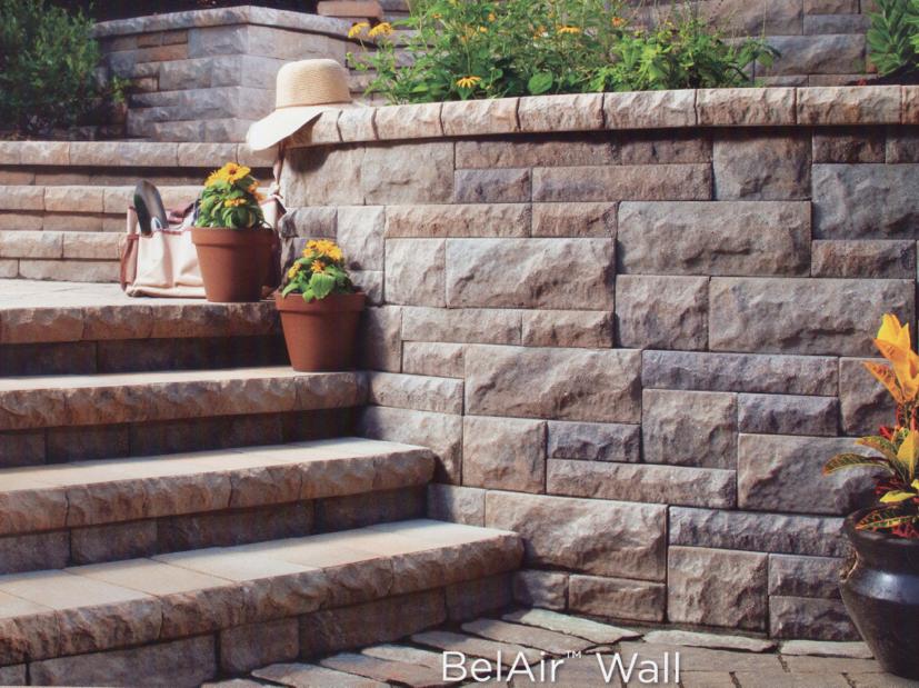 Steps, Walls & Waterfalls