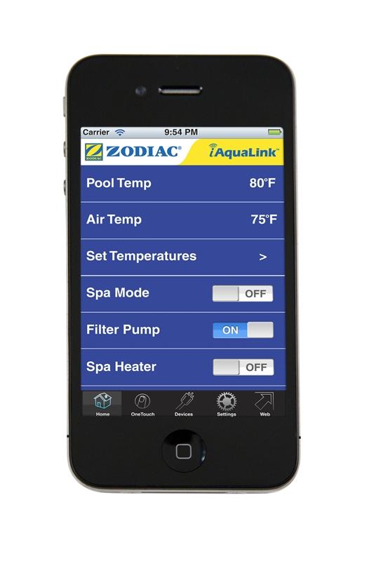 iAquaLink iPhone & iPad