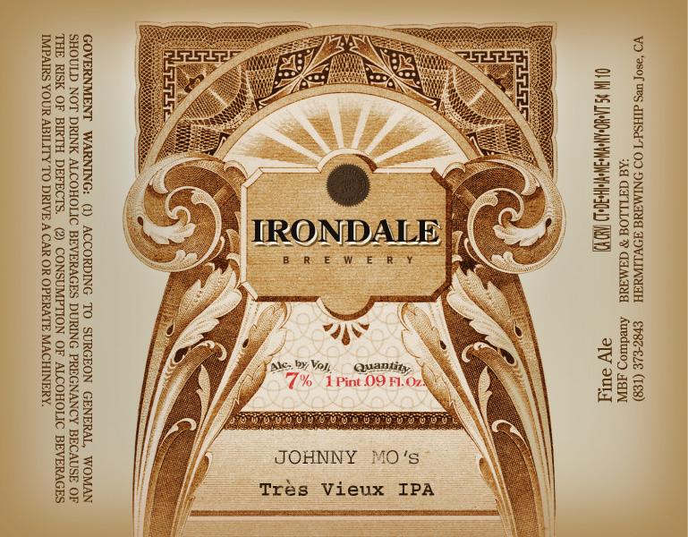 Irondale Tres Vieux IPA