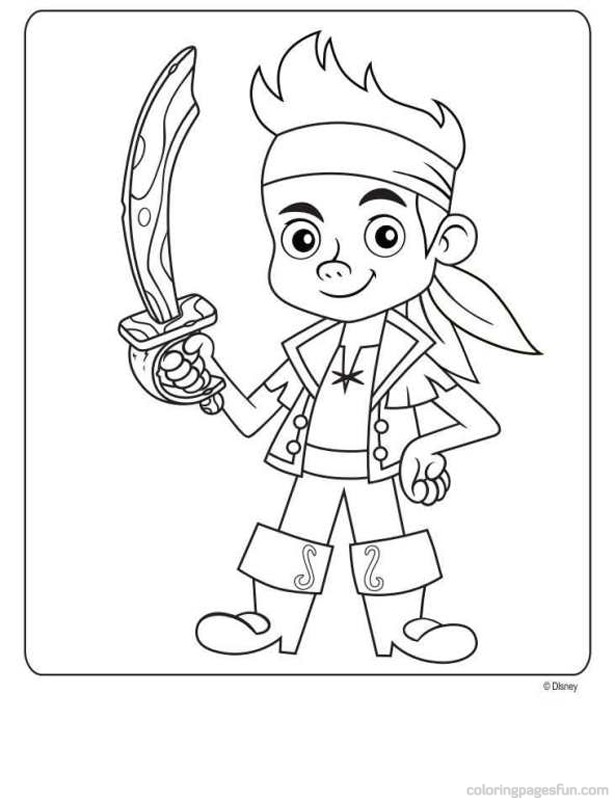 life is good by jake coloring pages | Ahoy Pirates! — Wayne Wonder Children's Parties in ...