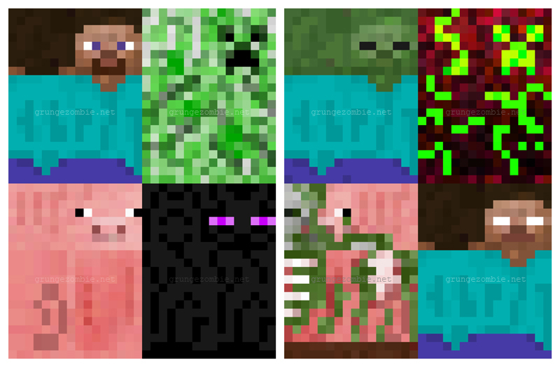 graphic relating to Minecraft Bookmarks Printable identified as Minecraft - Mine Crafts Wayne Speculate Childrens Events within just