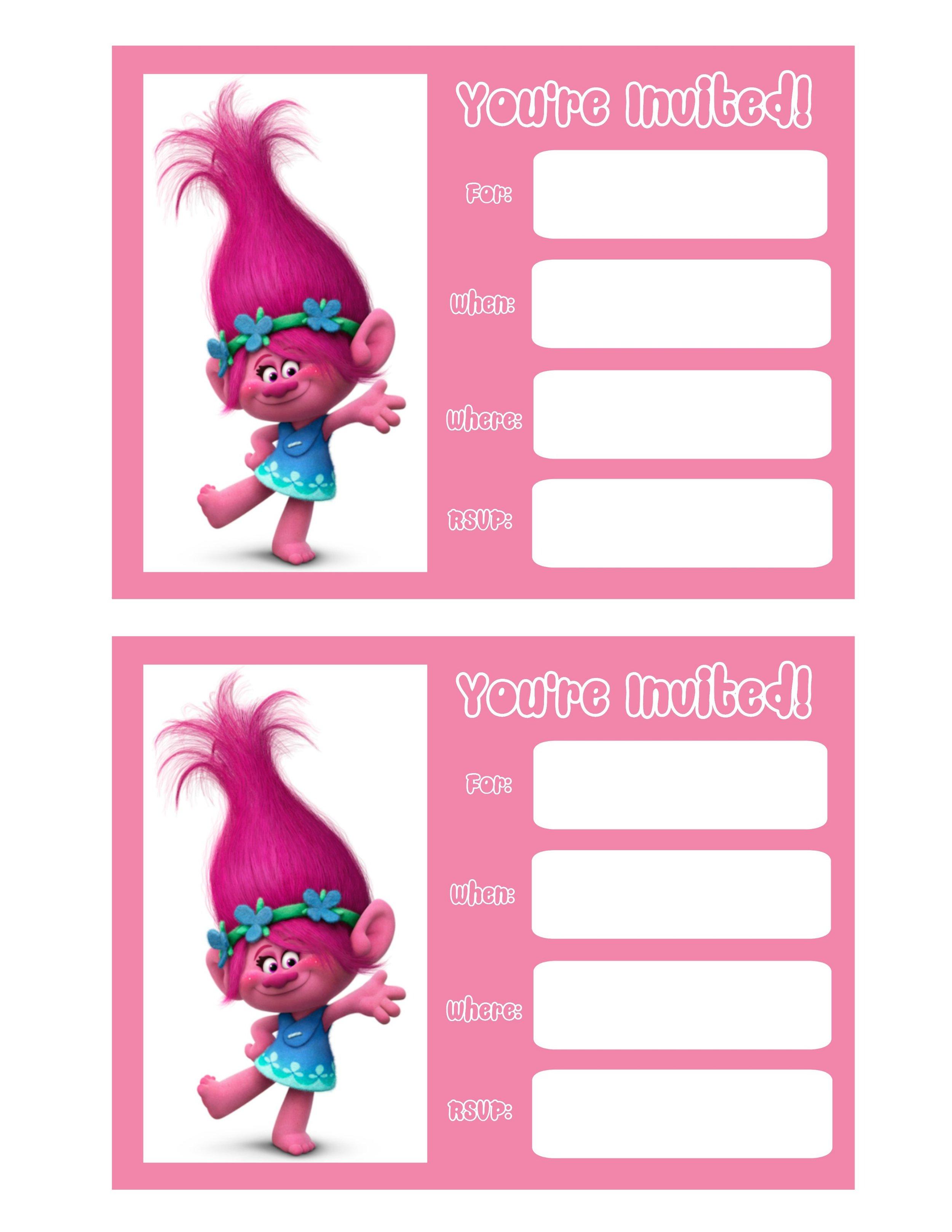 Pink Invites