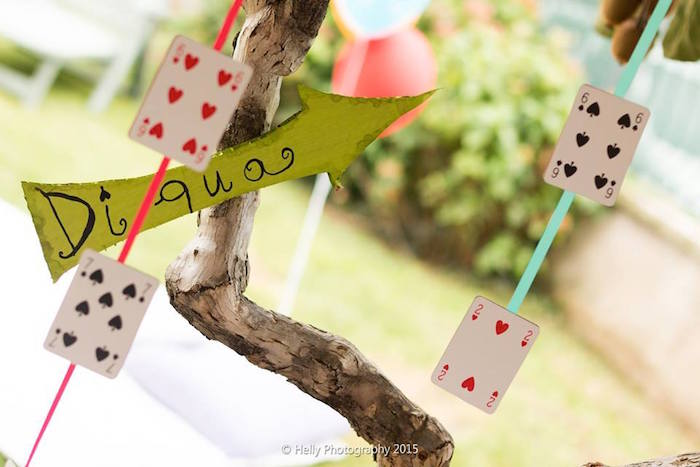 Playing Card garland Wonder Kids