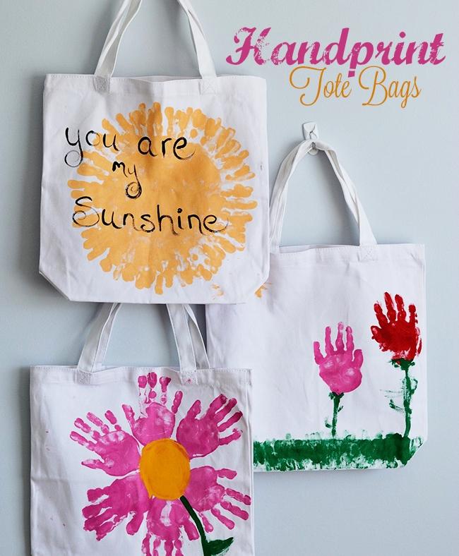 Handprint Tote Bag from Wonder Kids