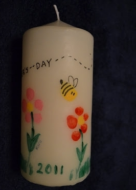 Mothers day Candle from Wonder Kids