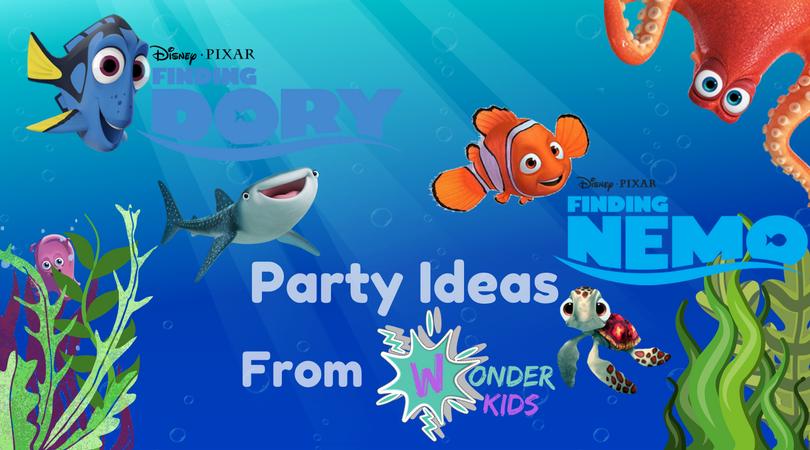 Finding Nemo Food ideas from Wonder Kids