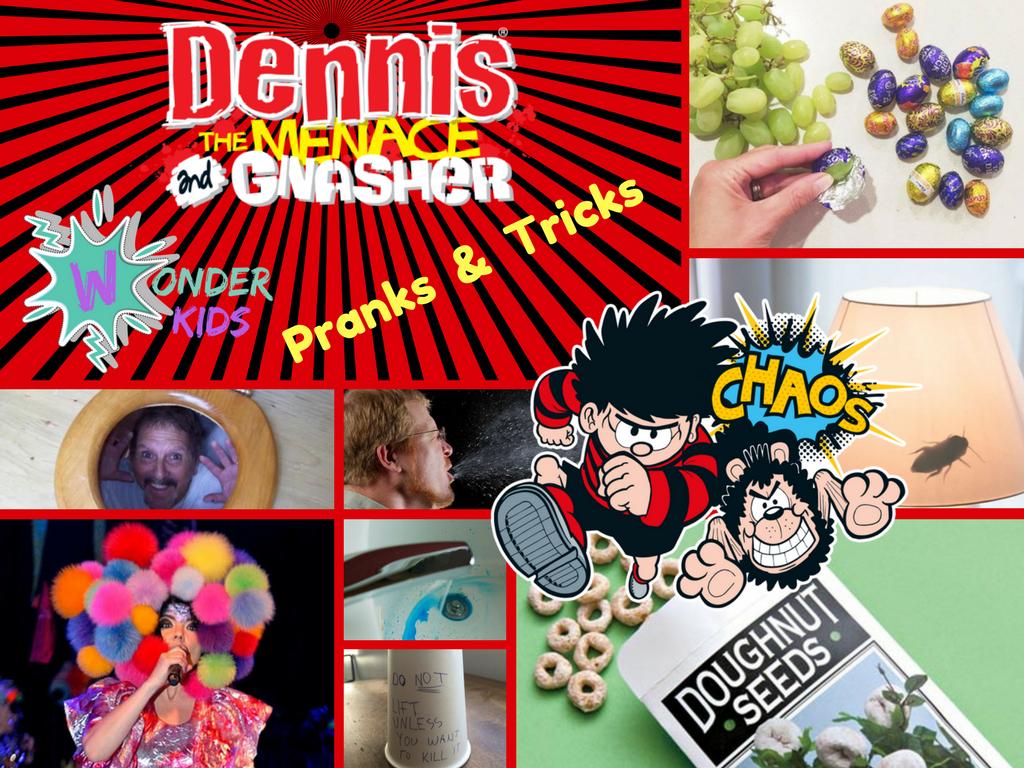 Dennis the menace from Wonder Kids