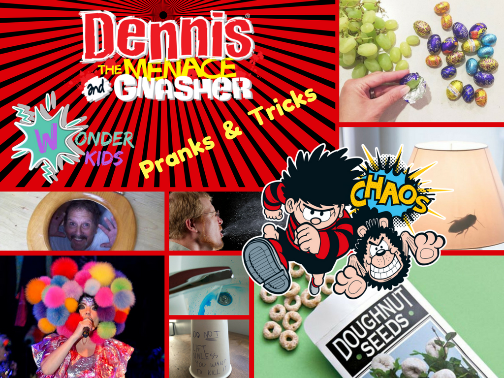 Dennis the Menace pranks from wonder Kids