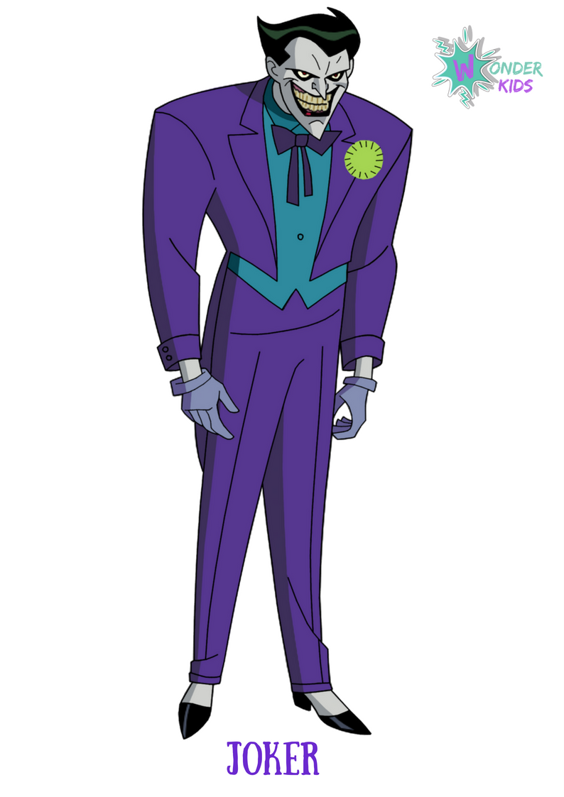 Joker from Wonder Kids