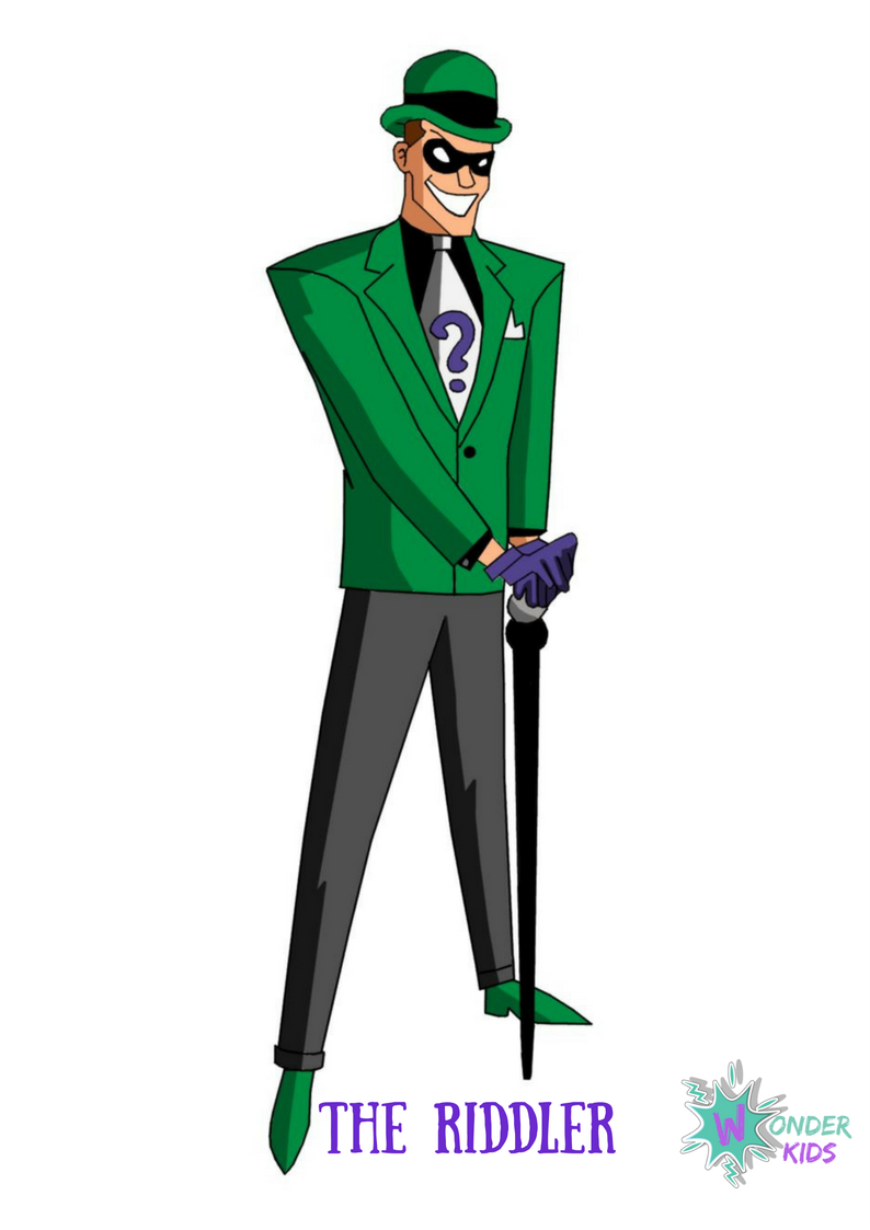 The Riddler from Wonder Kids