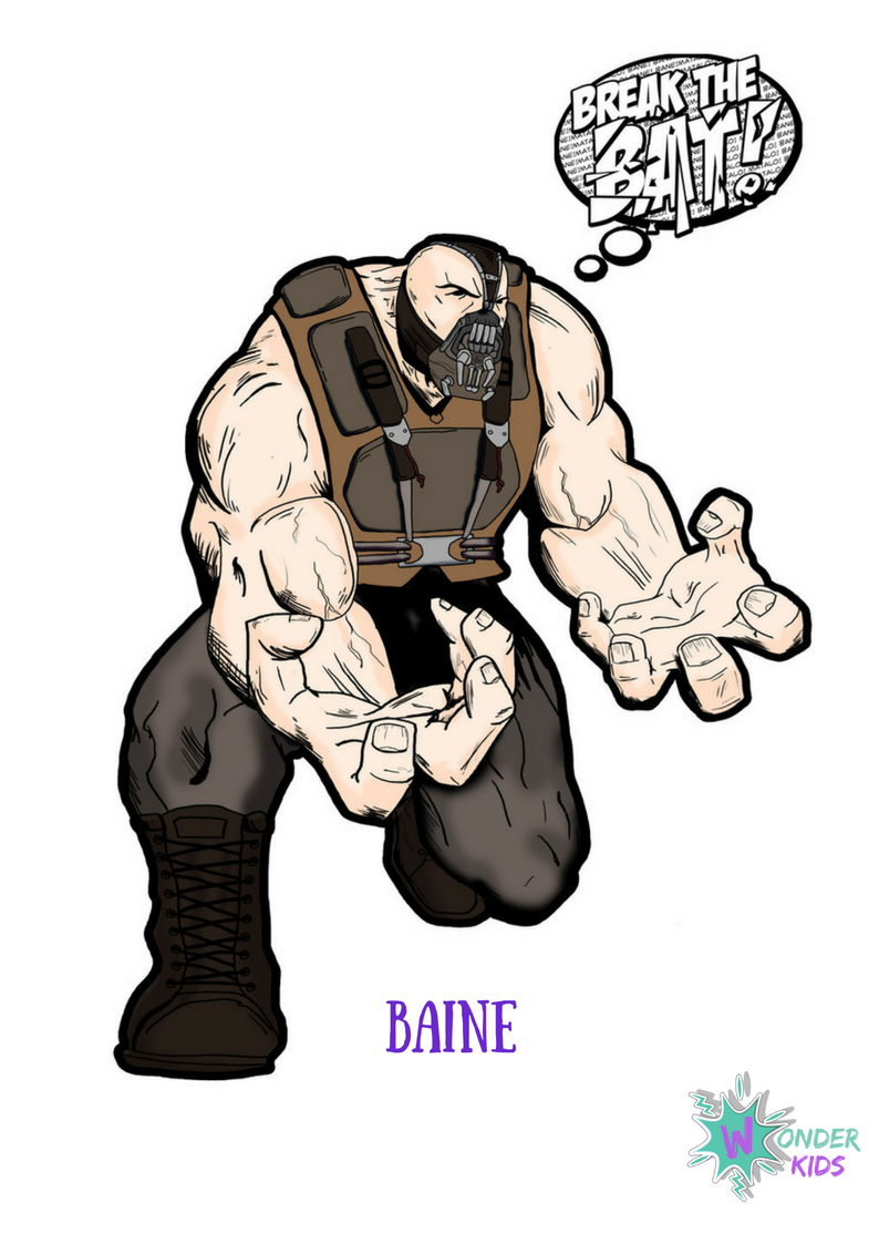 Baine from Wonder Kids