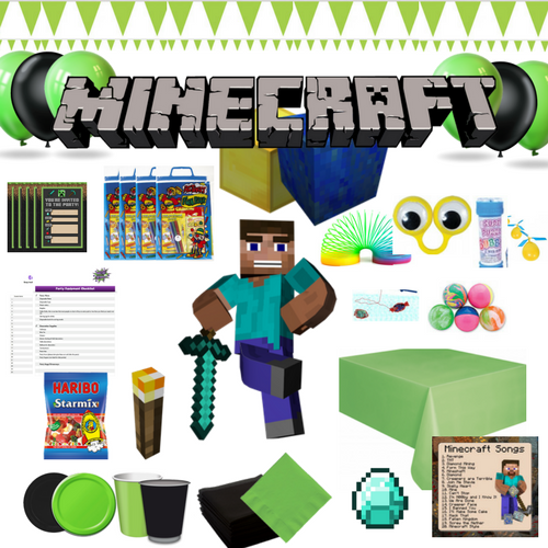 MInecraft Party Box Contents