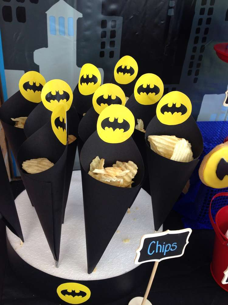 Batman Crisp Cones Wonder Kids