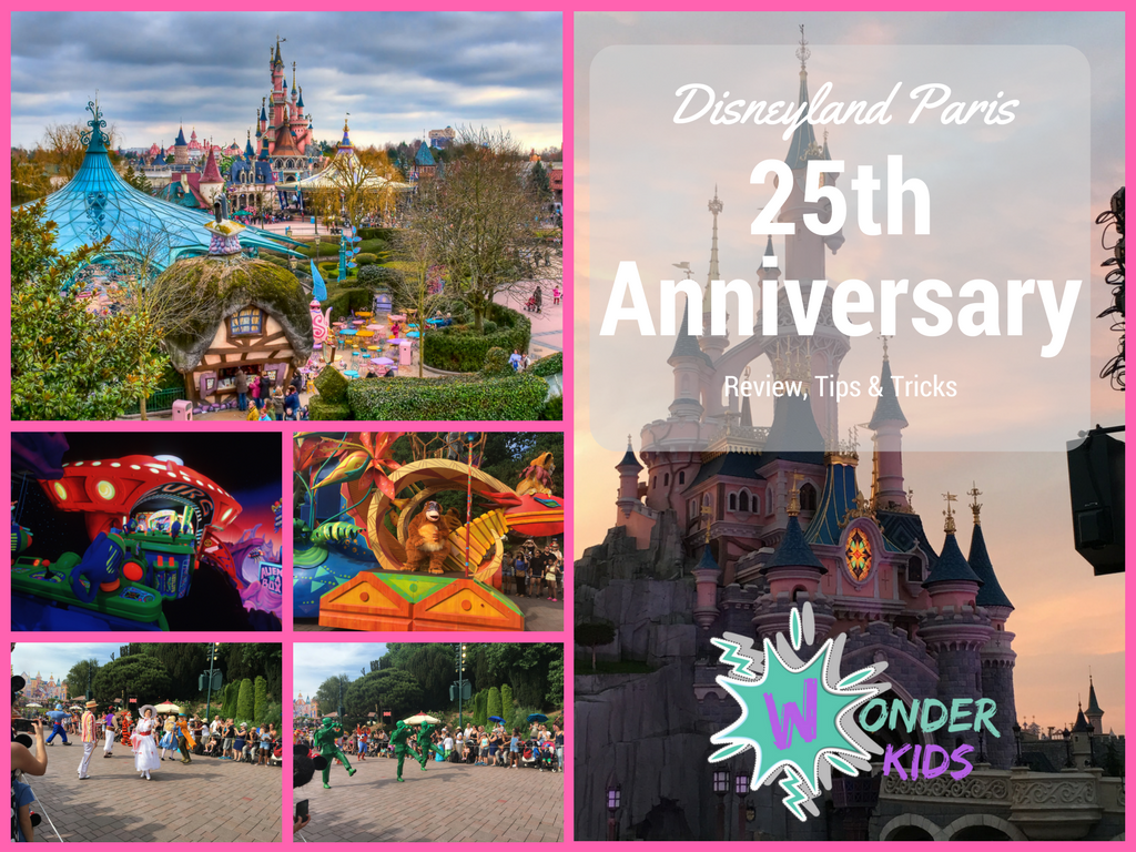 Disneyland Paris Wonder kids Review Restaurants