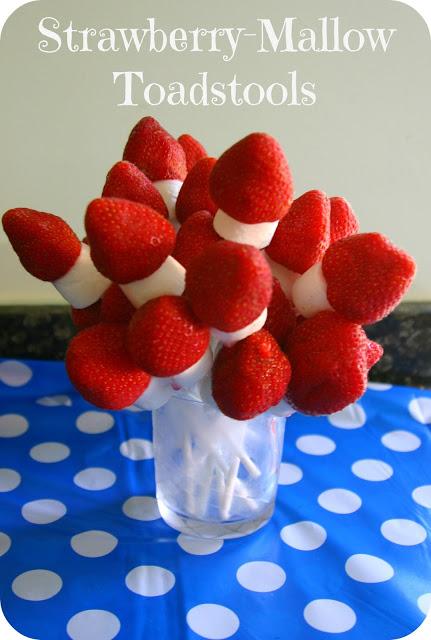 Strawberry-Mallow Toadstalls